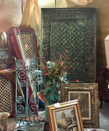 architectural pieces popular at antique show