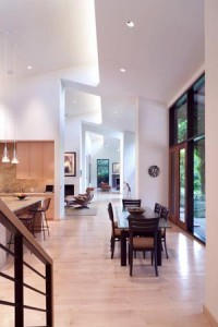remodel your kitchen high ceilings large windows wood stained cabinets