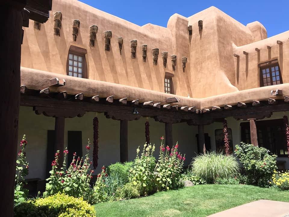 Adobe Santa Fe home