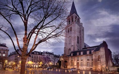 An American in Paris, Working to Save a 1,000-Year-Old Church