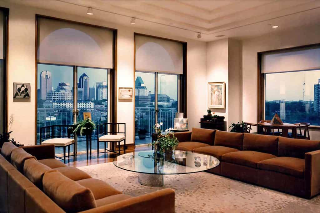 Condo living area remodel