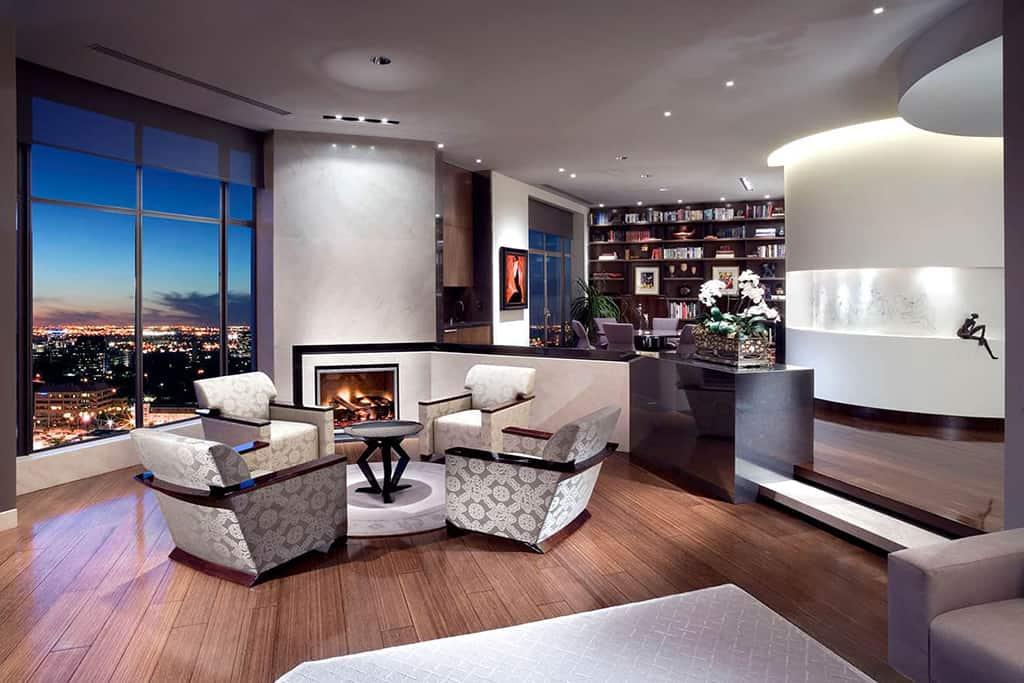 Condo living room remodel