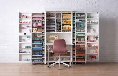 Setting up Craft Room and Storage in Your Home