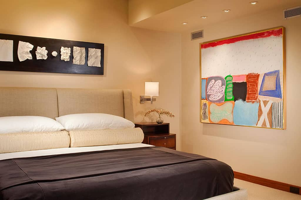 Guest room remodel after