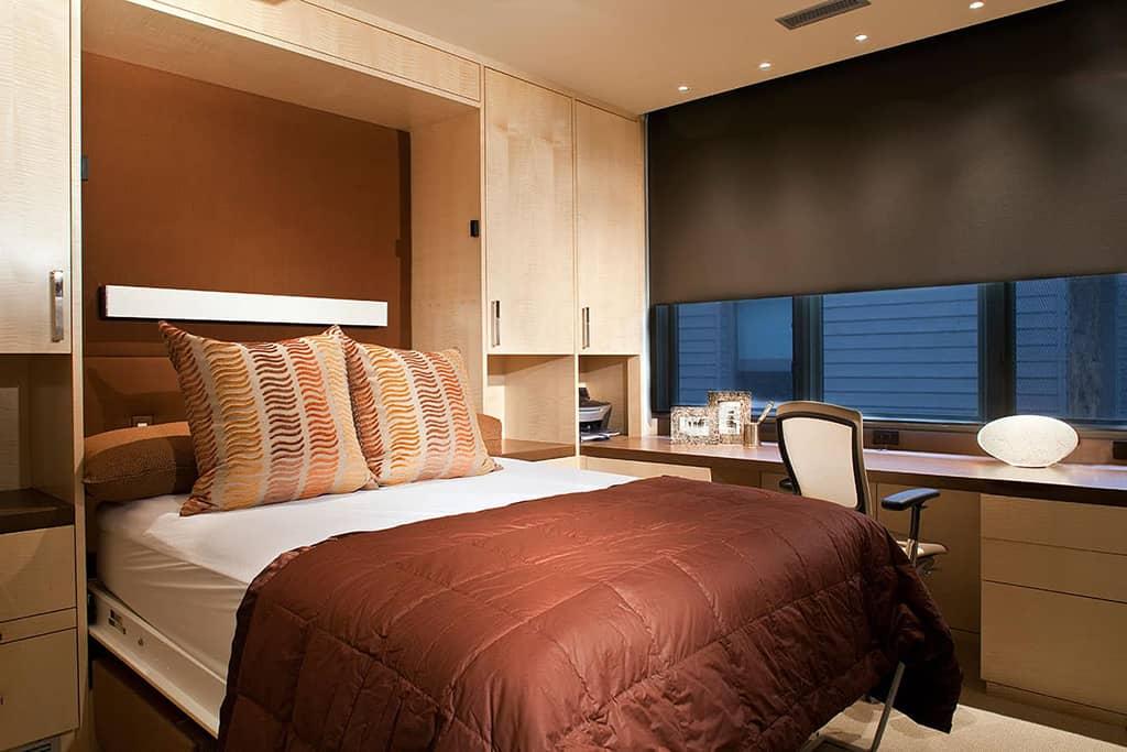 Guest room remodel murphy bed