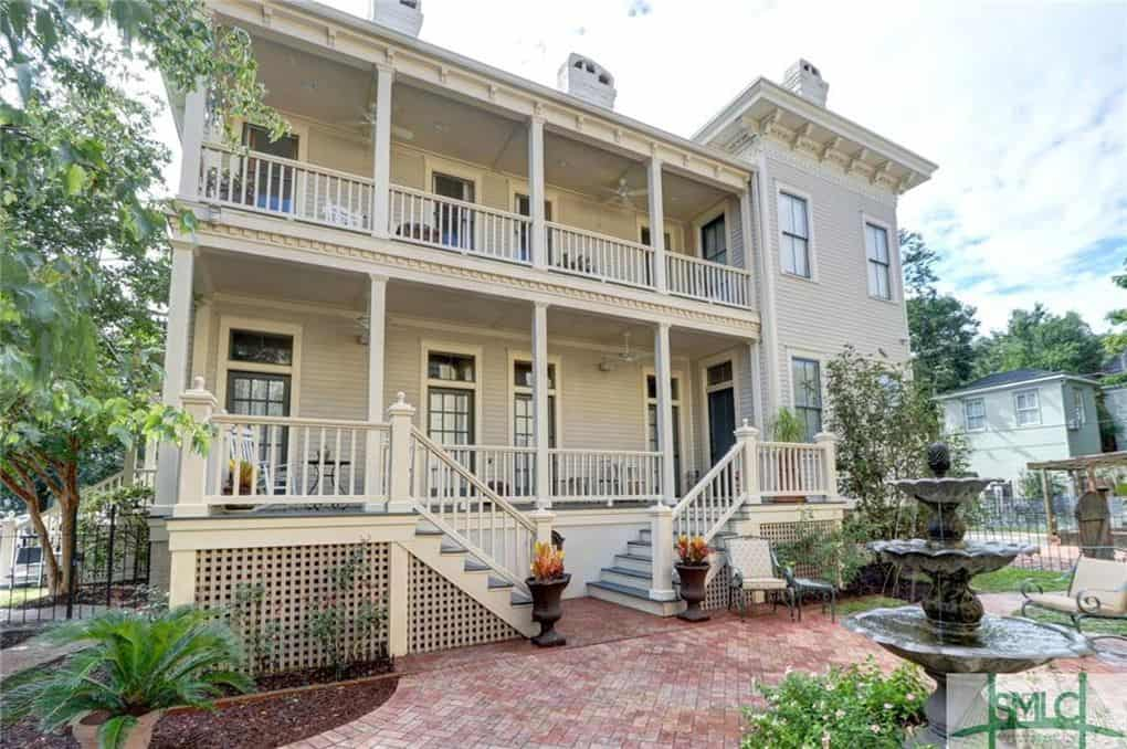 Humid Climate House Savannah, GA built 1894