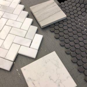 Gray tile scheme