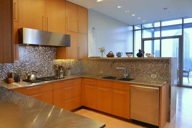 High Rise Remodel Kitchen - HPD Architecture, LLC