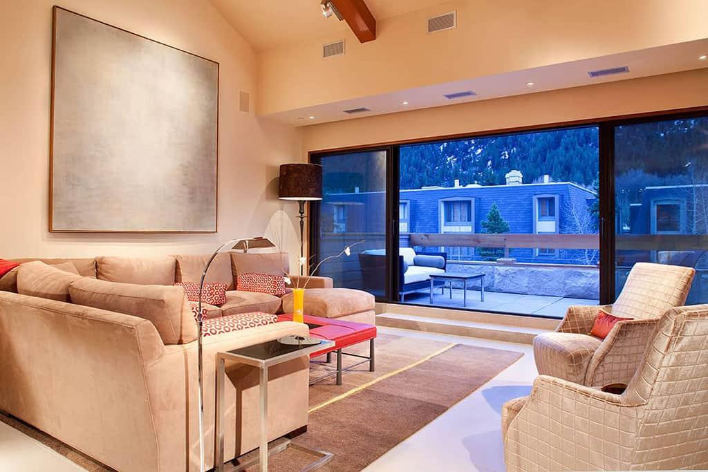 Living area remodel after