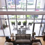 High Rise Remodel Living Room - HPD Architecture, LLC