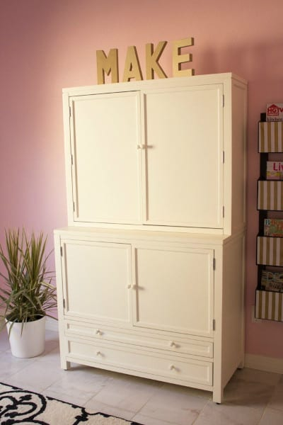 Craft Armoire Closed