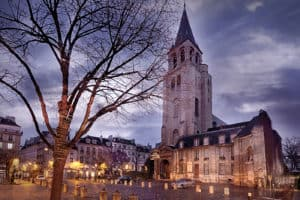 Saint Germain des Prés - the oldest church in Paris