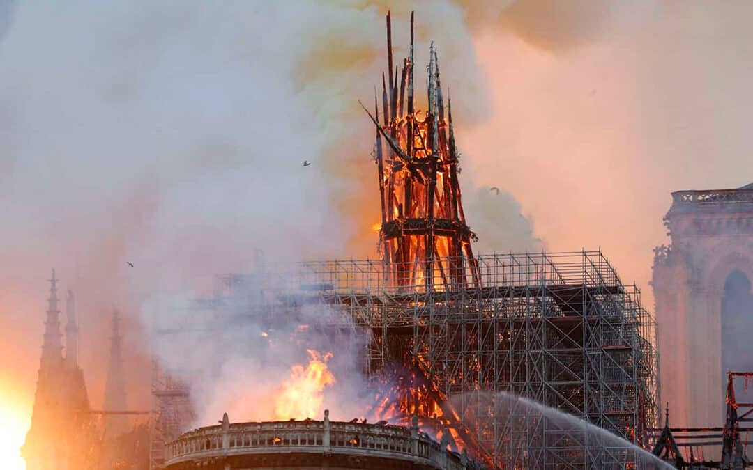 Notre Dame Cathedral is Burning