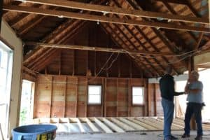 Home under construction renovation hpd architecture interiors