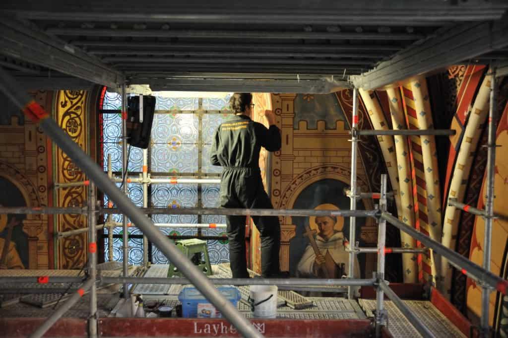 Restoration underway
