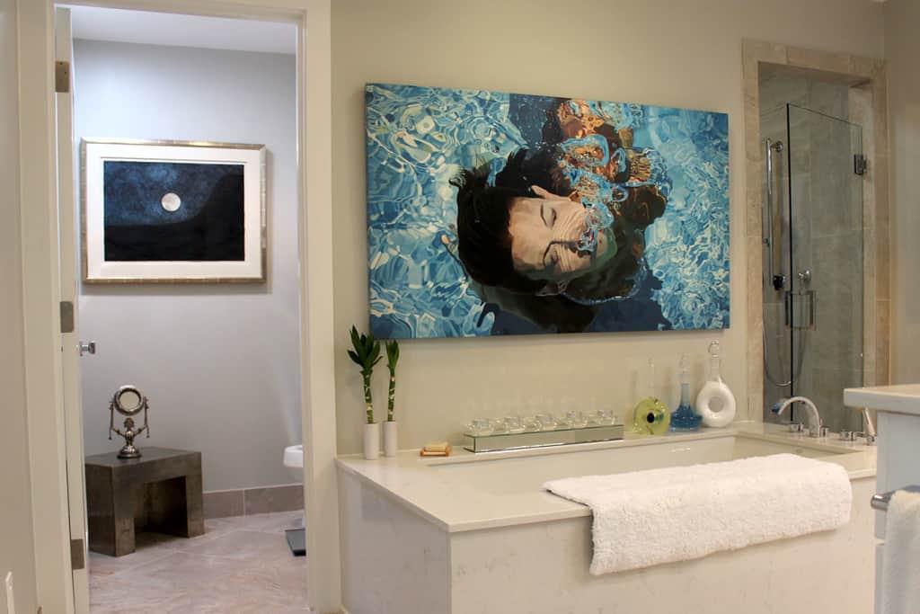 Bathroom remodel tub