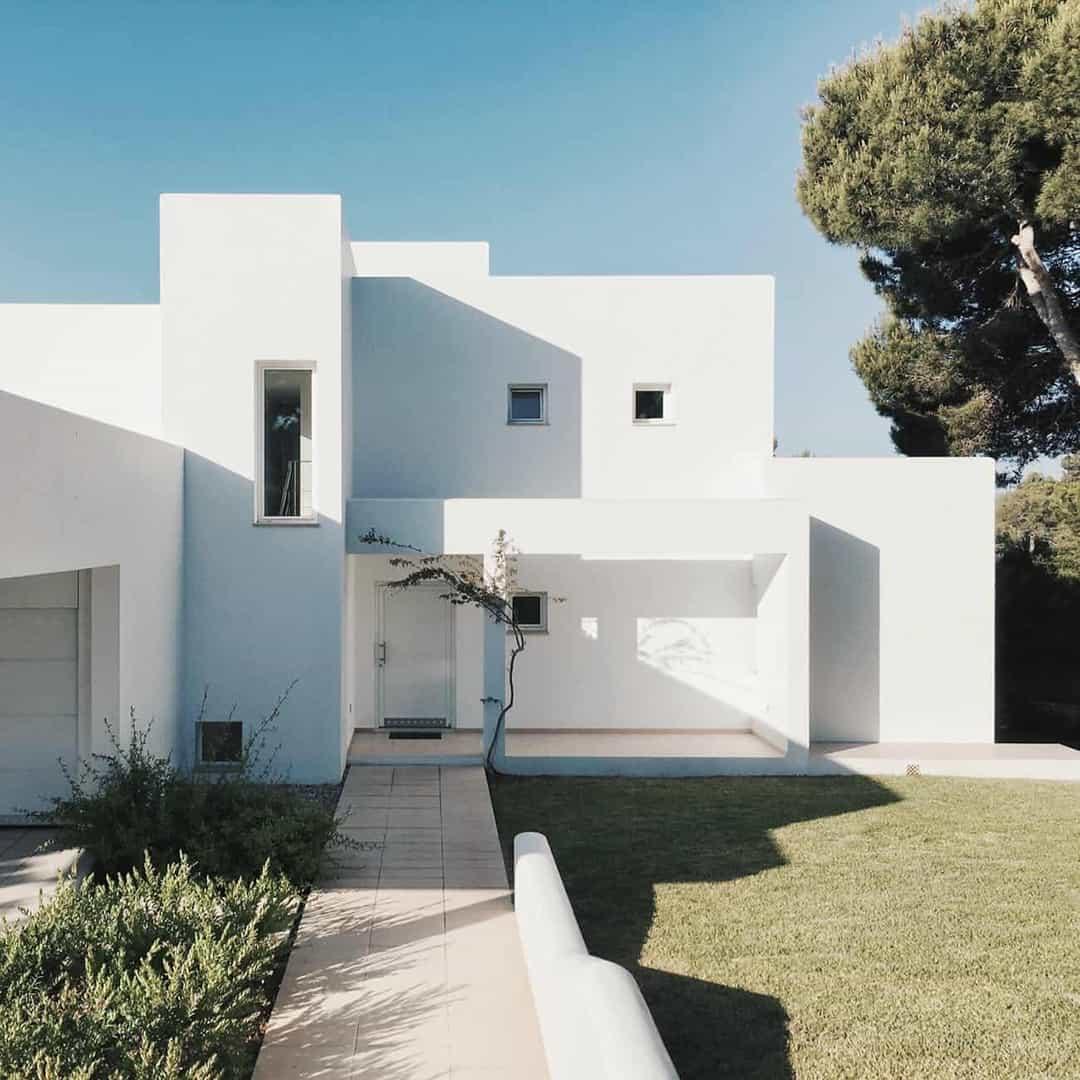 contemporary house