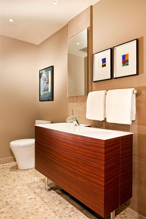 Dallas residential bathroom remodel