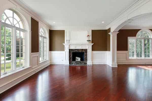 Disinfect wood floors