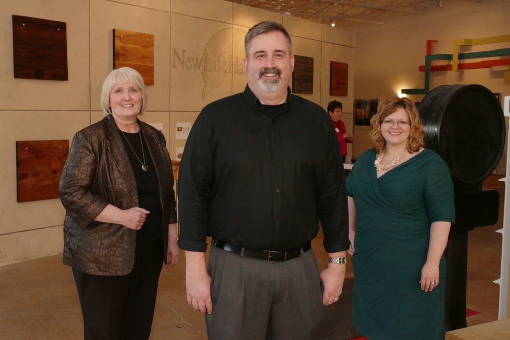 (L-R) Holly Hall, Larry Paschall, Laura Davis, HPD Architecture