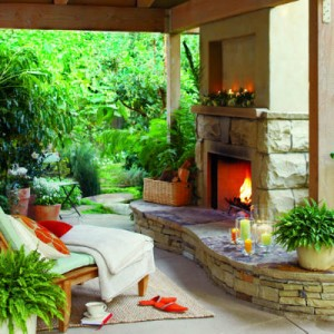 Creating an outdoor patio