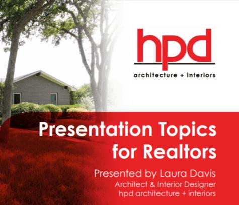 Presentation Topics for Realtors