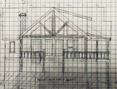 designing a modular home - sketch