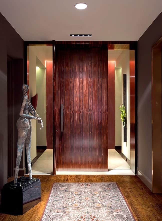 Solid wood doorway 1