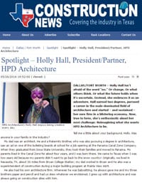 Texas Construction News - Holly Hall - HPD Architecture
